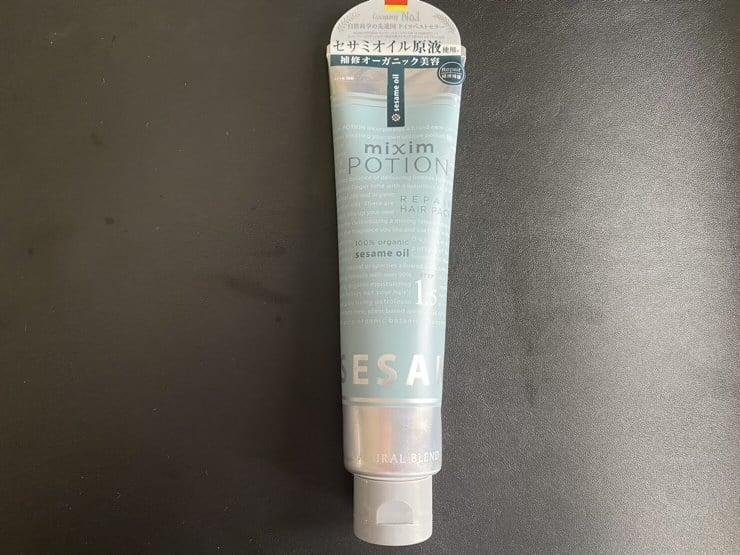【実証】「mixim POTION(ミクシム ポーション) ディープリペアヘアパック1.5」を美容師が実際に使ったレビュー記事
