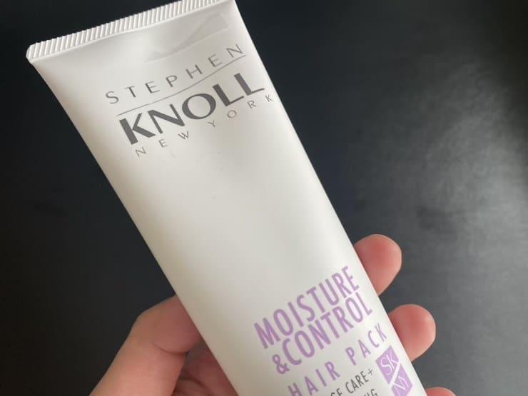 【実証】「STEPHEN KNOLL(スティーブンノル)モイスチュアコントロールヘアパック」を美容師が実際に使ったレビュー記事